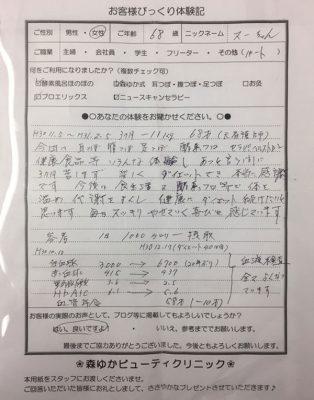 びっくり体験記2019/3/27
