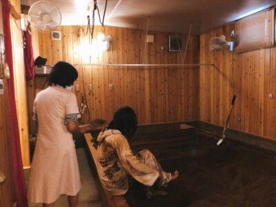 酵素風呂 入浴後 クールダウン  森ゆかビューティクリニック