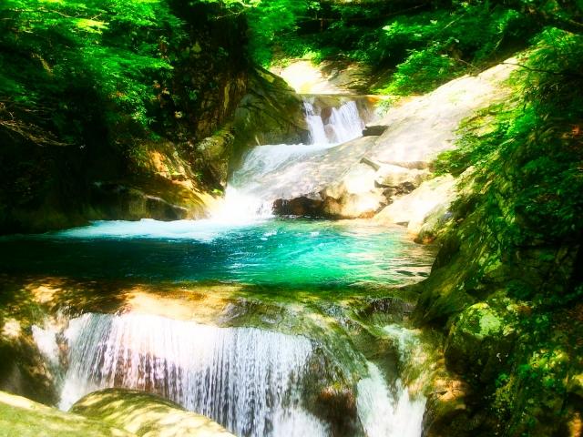 滝 量子水イメージ